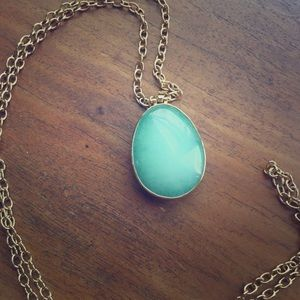 Stella and Dot reversible stone necklace